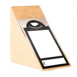 Sandwich Label (Arch) - Blackboard Design