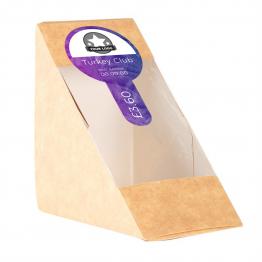 Sandwich Label (Lollipop) - Palm Tree Design