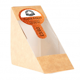 Sandwich Label (Lollipop) - Geometric Design