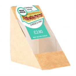 Sandwich Label - Modern Fresh Made Design