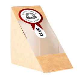 Sandwich Label (Lollipop) - Simple Arrow Design