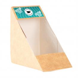 Sandwich Label (Small) - Wavy Design