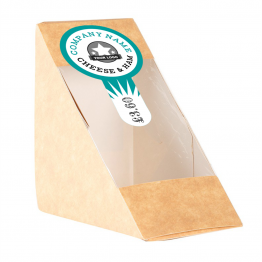 Sandwich Label (Lollipop) - Starburst Design
