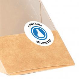 Allergen Label - Contains Sulphites