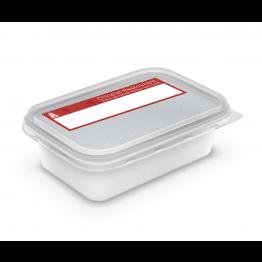Chinese Takeaway Label - Red Pattern (half)