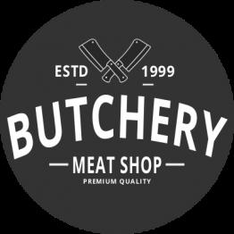 Butcher Sticker - Butchery
