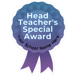 Head Teacher Rosette Stickers