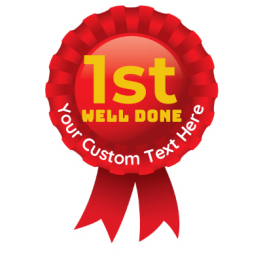 Sports Day Rosette Stickers