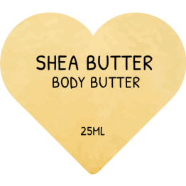 Heart Product Labels - Shea Butter Beauty stickers