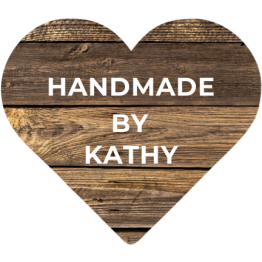Handmade Wooden Heart Effect Labels