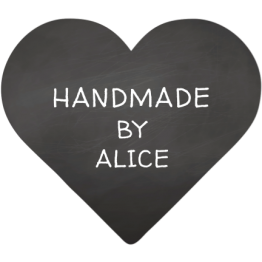 Heart Shaped Stickers - Handmade Chalkboard Design