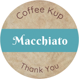 Coffee Shop Product Label - Mocchiato