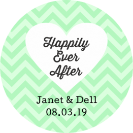 Jam Jar Labels - Happily Ever After