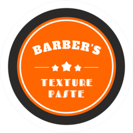 Barbers Clear Product Labels - Orange Design
