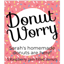 Donut Worry Sweet Design