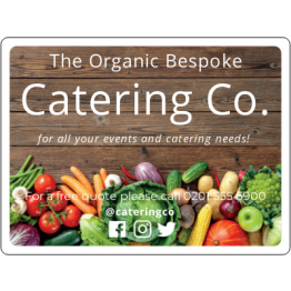 Fruit and Veg Catering Magnet design