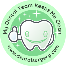 Personalised Dentist Stickers - Mint Green