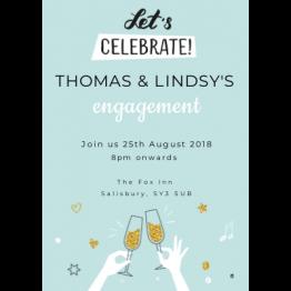 Let's Celebrate Party Invitation