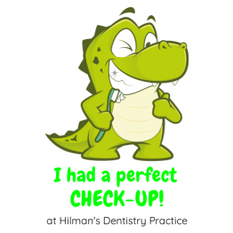 Smiley Croc Dentist Reward Shape Sticker