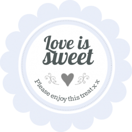 Love is Sweet - Ditsy Floral Design