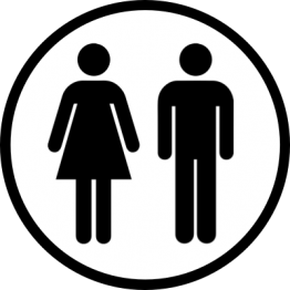 Toilet Sticker - Unisex