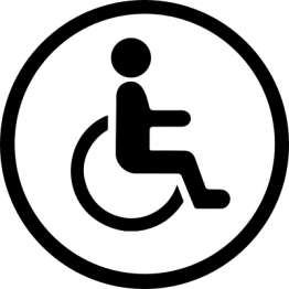 Toilet Sticker - Disabled
