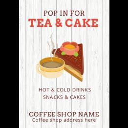 Flyers - Tea & Cake Design
