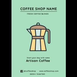 Flyers - Modern Artisan Coffee