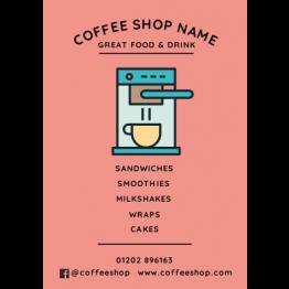 Flyers - Modern Coffee Machine