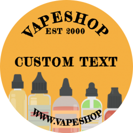 Vapeshop - Bottle Design