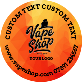 Vapeshop - Orange Design