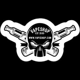 Vapeshop - Die Cut Skull