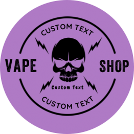 Vapeshop - Skull Circle