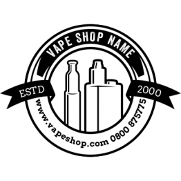 Vapeshop - Crest Design