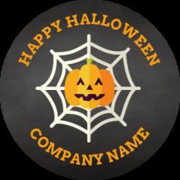 Halloween - Pumpkin Web