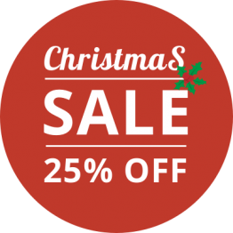 Christmas Sticker - 25% Off