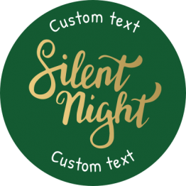 Christmas Sticker - Silent Night