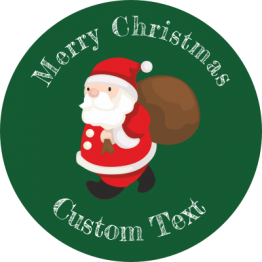 Christmas Sticker - Little Santa