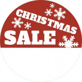 Christmas Sticker - Snowflake Sale