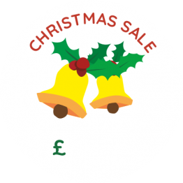 Christmas Sticker - Holly Bells