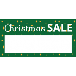 Christmas - Green Price Label