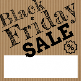 Black Friday - Brown Paper Design 2