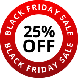 Black Friday - Red 25% Off
