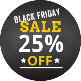 Black Friday - 25% Off 2