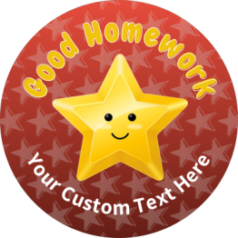 Award Star Stickers