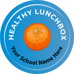Healthy Lunchbox Stickers
