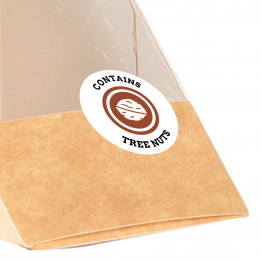 Allergen Label - Contains Tree Nuts