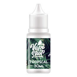 E-liquid Label - Tropical 30ml