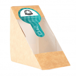 Sandwich Label (Lollipop) - Wavy Design