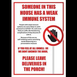 Weak Immune System Poster